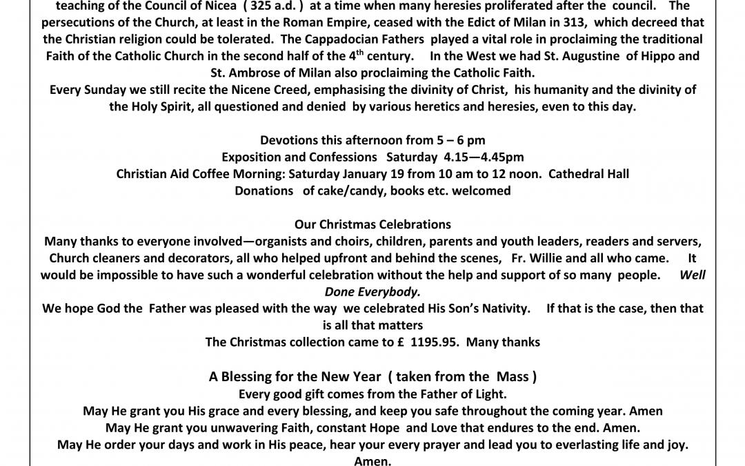 Parish Newsletter – 06/01/19